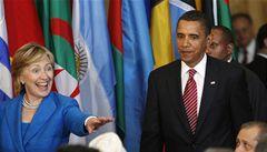 Hillary Clintonovou mají Američané raději než Obamu